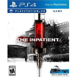 全新 psvr the inpatient行版