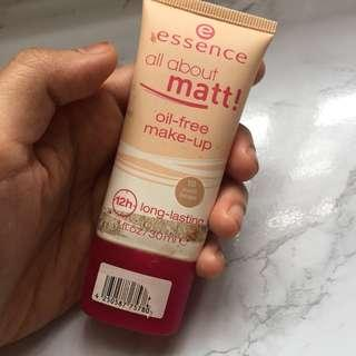 Essence all about matt foundation