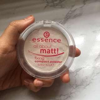 Essence all matt fixing powder