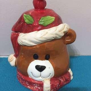 Ceramic Cookies Jar Bear