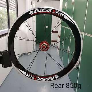 Eiosix S90 High Profile 451 22inch Wheelset