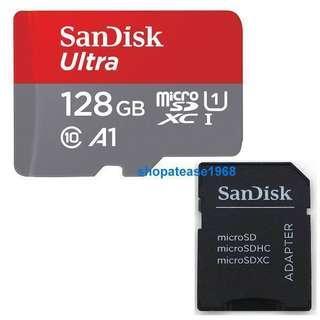 Sandisk Ultra Micro SD SDXC 128G 128GB Class 10 100MB/s