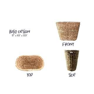 Natural Abaca Baskets