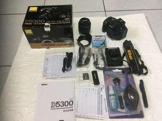🚚 Nikon D5300+18-55mm VR II