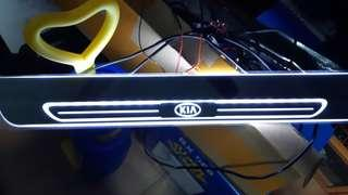 New led kia scuff plate