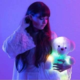 Boneka Teddy Bear unik bisa nyala