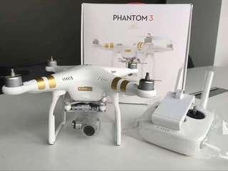 credit Drone Dji phantom 3Pro Dp rendah Mulai 1juta promo free1x