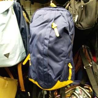3388 MAGIC STAR 優質尼龍Notebook背囊 Laptop Backpack 深藍配黃 書包
