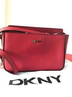 REDUCED Ori DKNY Red Sling Bag