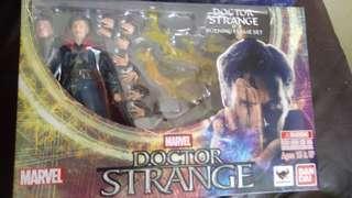 Bandai S.H. Figuarts Doctor Strange & Burning Flame Set :shf Marvel 奇異博士 配火焰件特別版 二手
