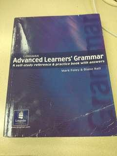 Advanced Learner's Grammar Longman 英文文法書