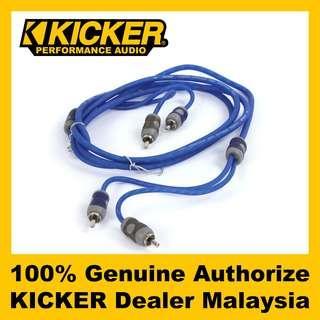 KICKER K-Series 2-channel RCA Cable, 5 Meter - KI25