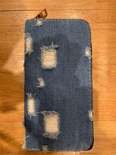 Jeans Long wallet