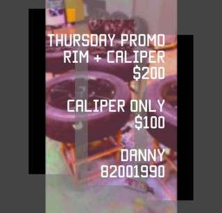 RIMS N CALIPER  2k SPRAY