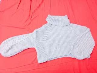 🔸JEANASIS短版寬袖毛衣