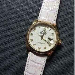 Rolex Day-Date 18038 18K GOLD Watch