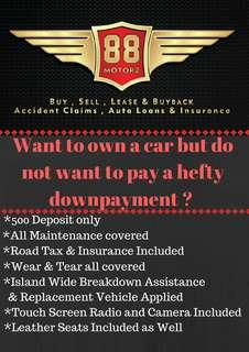 Toyota BEST LTO PLAN IN SG! LEASE TO OWN ONLY $500 DEPOSIT
