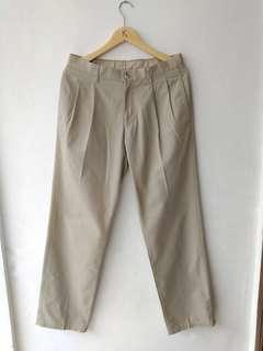 Uniqlo longpants khakis sz 33