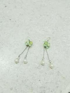Green Nutterfly Earring