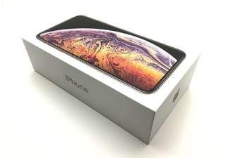 Authentic Sealed in Box New IPhone XS Max 256GB Gold Free Speaker
