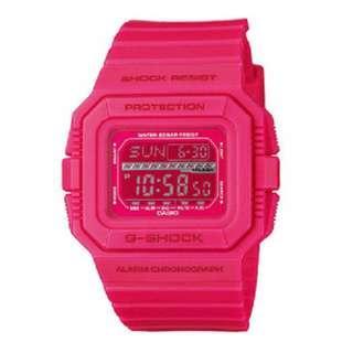 CASIO G-SHOCK  GLS-5500MM-4 Crazy Color PINK New Genuine