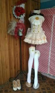Love Live!Maki Nishikino Wedding Awakened Cosplay Costume