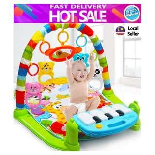 Baby Toddler Playgym Playmat Play Gym With Music & Lights - Keyboard Version
