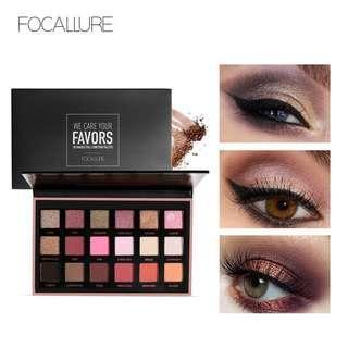 Eyeshadow 18 colours ready stock