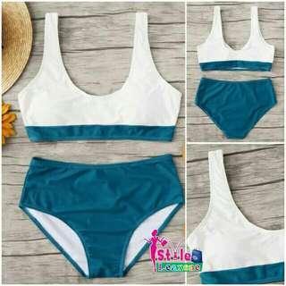 Aurlie Contrast Bikini Set