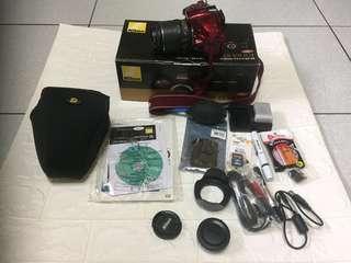 🚚 Nikon D5200+18-55mm VR
