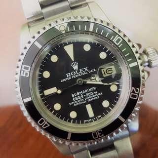 ROLEX 1680 DATE SUBMARINER WATCH (1978)