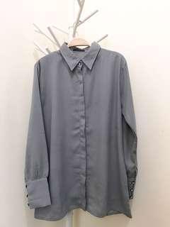 Basic Grey Shirt (Hosofshopaholic)