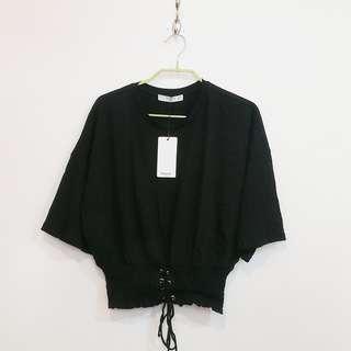 MANGO Corset Detail Tshirt