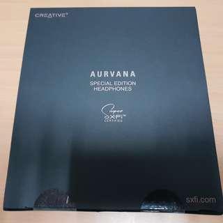 Creative Aurvana Special Edition headphone Sx-fi