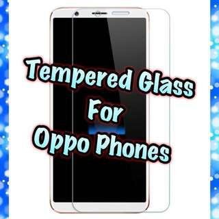 🚚 Oppo Tempered Glass Collection