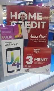 Galaxy J4 Bisa di cicil Dp murah gratis 1 kali angsuran