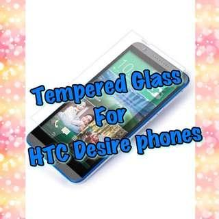 🚚 HTC Desire Models Glass Protectors
