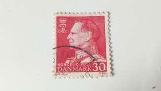 丹麥 Danmark Kongelic Post 30