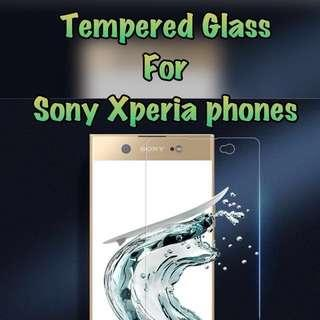 🚚 Sony Xperia Tempered Glass Collection