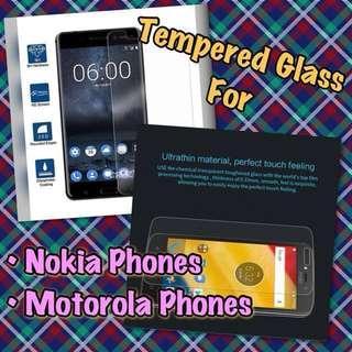 🚚 Nokia / Motorola Glass Screen Protector