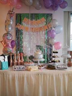 [For Rent] Dessert Table Tray and Cake Stand
