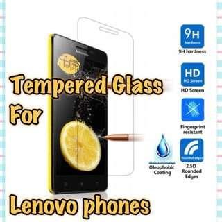 🚚 Lenovo Models Glass Screen Protector