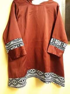 Baju Atasan Wanita Warna Merah