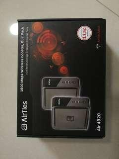 Airties 4920 Wireless mesh/  wifi extender priced low to go urgently  by weekend