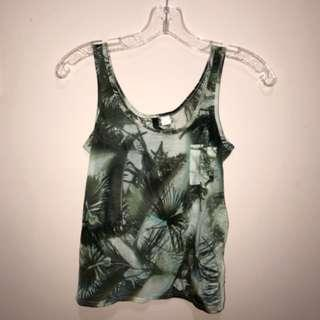 Palm trees tank top