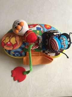麵包超人推車玩具