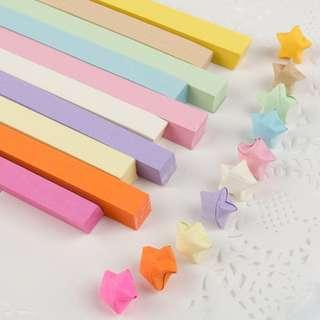 (Crazy Deals!!!) (Sell ALL in 1 Price) Origami Wish Star Paper 幸运星星纸