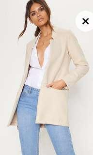 BRAND NEW WITH TAGS cream jacket