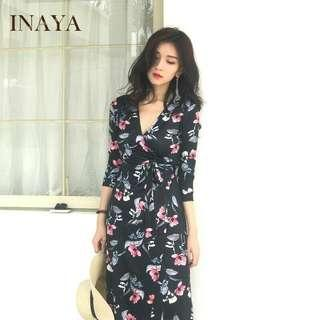 Floral Dress Ready Stock