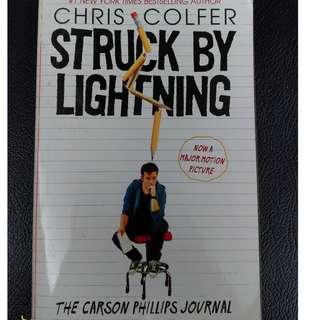 Novel Struck by Lightning by Chris Colfer (English)